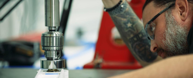 Aerotech Machining assembly