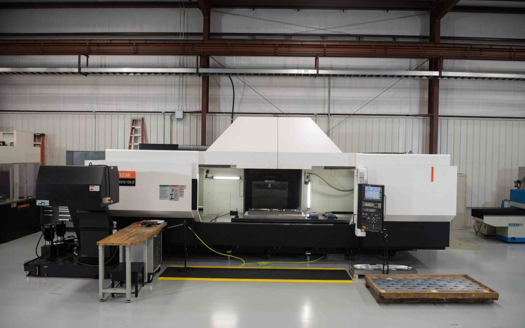 Aerotech Machining enhances its productivity and parts capability to include large, structural aerospace components and more with the addition of the Mazak VORTEX 815-120